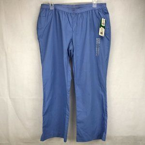 Peaches CEIL Soft/Durable size 2XL Scrub Pants  #7
